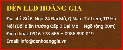 Địa chỉ mua đèn led âm trần cao cấp tại Hà Nội