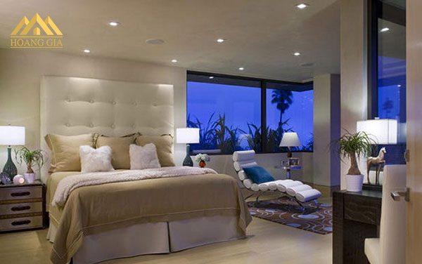 Những mẫu đèn led âm trần phòng ngủ ấn tượng