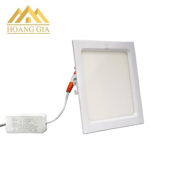 Đèn led âm trần siêu mỏng 6w vuông