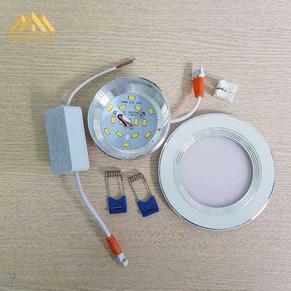 đèn led âm trần đế mỏng tại Hà Nội