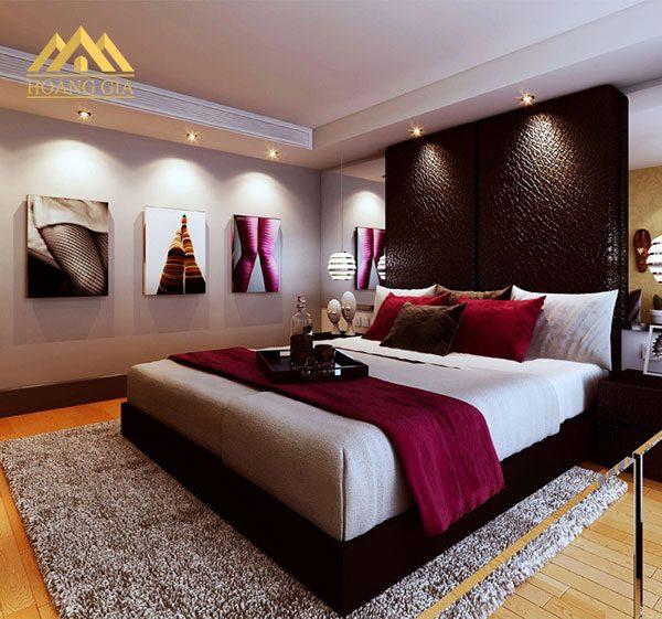 Cách bố trí đèn led âm trần phòng ngủ hợp lý