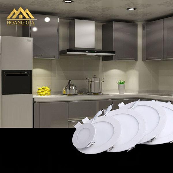 Ứng dụng tuyệt vời của đèn led downlight âm trần siêu mỏng