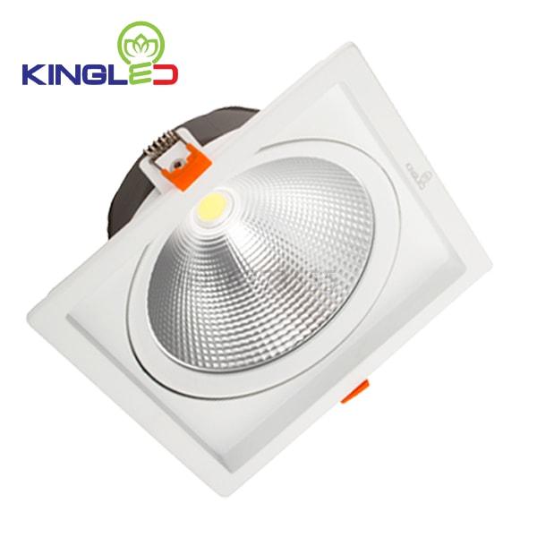 Đèn led spotlight Kingled 10w vuông DLR-10-V115