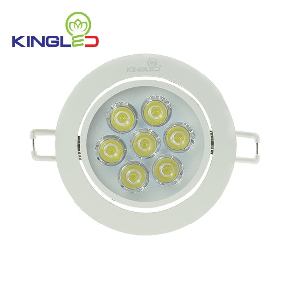 Đèn led spotlight Kingled 7w DLR-7-T110