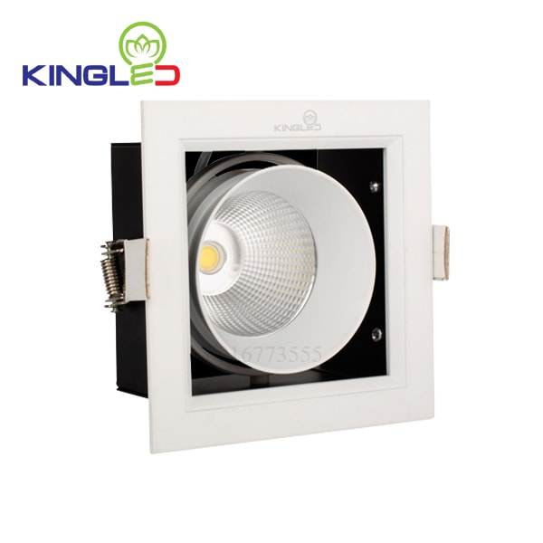 Đèn led spotlight Kingled đơn 1*10w GL-1*10-V120