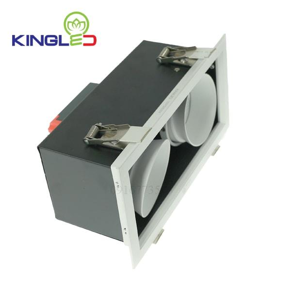 Đèn led spotlight Kingled đôi 2*10w GL-2*10-V227