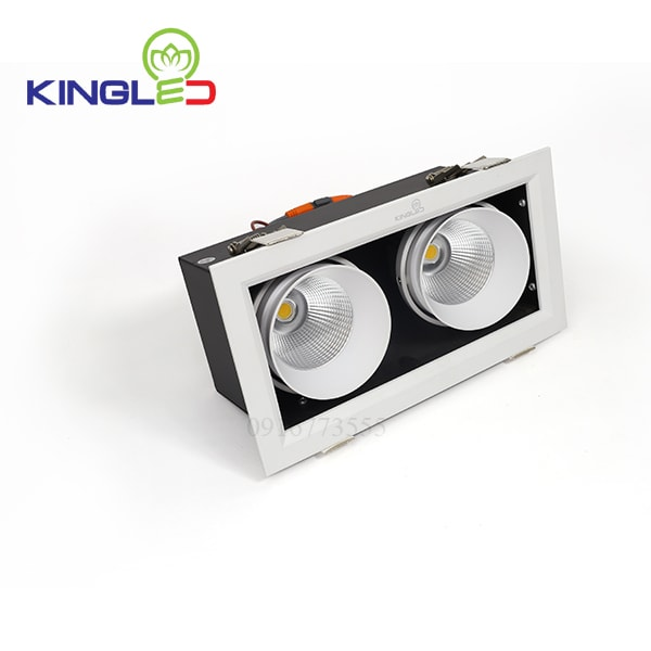 Đèn led spotlight Kingled đôi 2*10w GL-2*10-V227