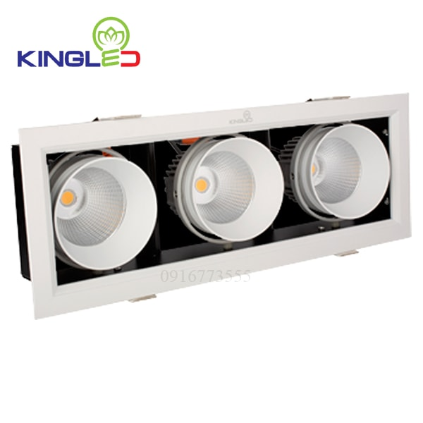 Đèn led spotlight Kingled ba 3*10w GL-3*10-V334