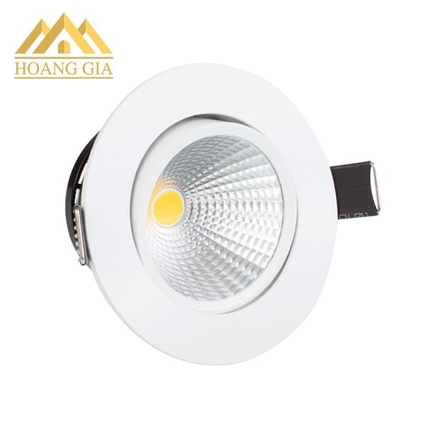Đèn downlight xoay và cách thức sử dụng đèn downlight xoay