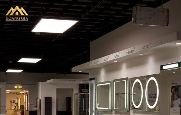 Đèn led âm trần 600x600