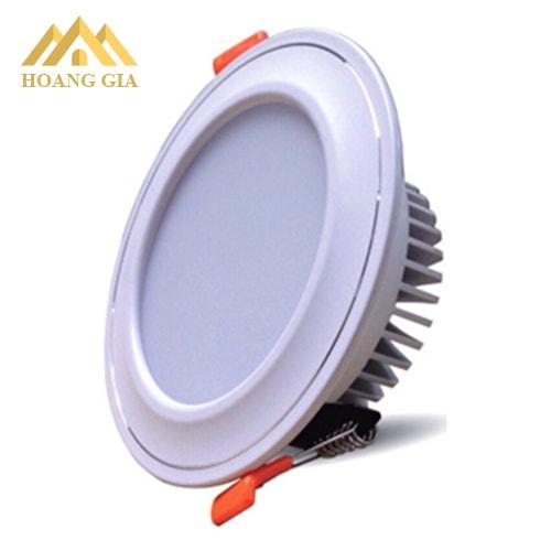 Đèn led âm trần D100, đèn downlihgt kích thước mặt Phi 100mm