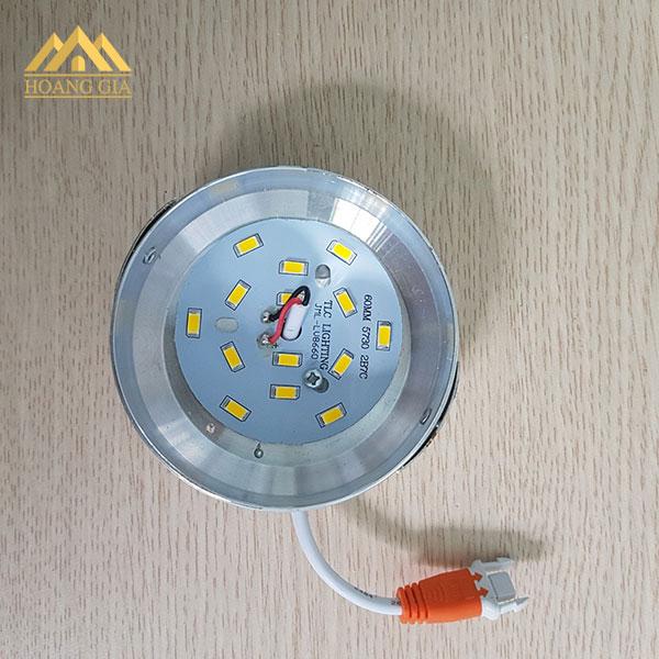Dấu hiệu nhận biết đèn led âm trần TLC chính hãng