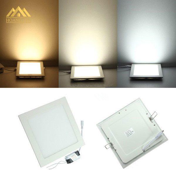 Đèn led âm trần vuông - Đèn led downlight vuông âm trần Hà Nội