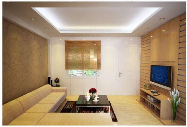 Các loại trần có thể sử dụng đèn led âm trần