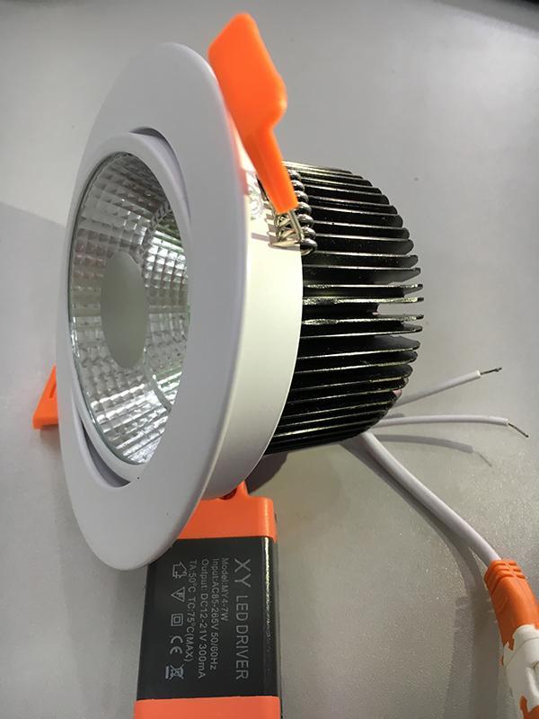 Đèn downlight âm trần AC