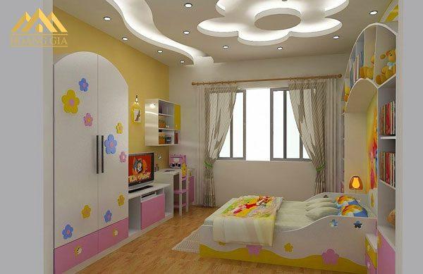 đèn led âm trần cho phòng ngủ với đèn led trang trí