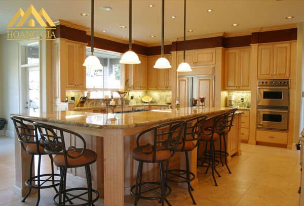 đèn led âm trần cho phòng bếp