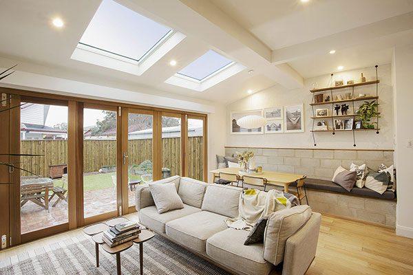 Cách bố trí đèn led trần cho phòng khách công suất 8w – 12w