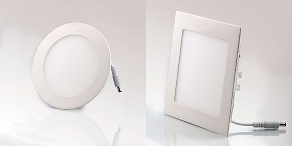 Đèn led âm trầm cho phòng bếp nên sử dụng đèn led tròn hay vuông