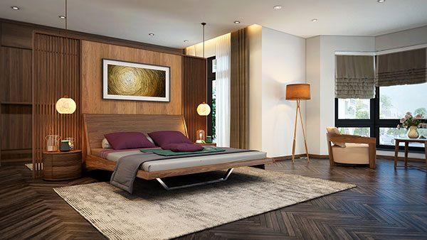 Có nên kết hợp đèn led trang trí với đèn led âm trần cho phòng ngủ