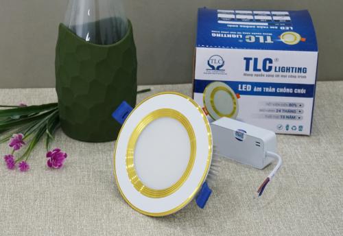 Đèn led âm trần đế dày 9w giá rẻ tại Hà Nội