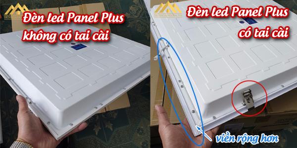 Đèn led Panel Plus có tai cài và không tai cài