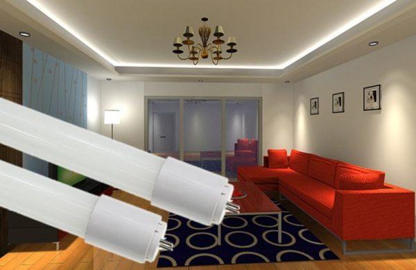 Sử dụng đèn tuýp led chiếu sáng dân dụng hiệu quả