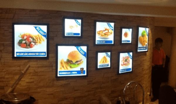 Ứng dụng của đèn led Panel trong quảng cáo