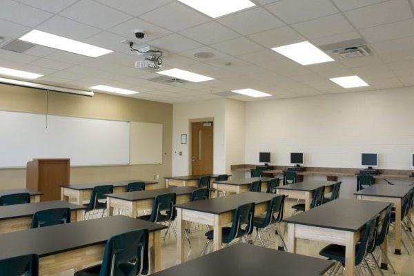 Ứng dụng của đèn led Panel cho lớp học 1