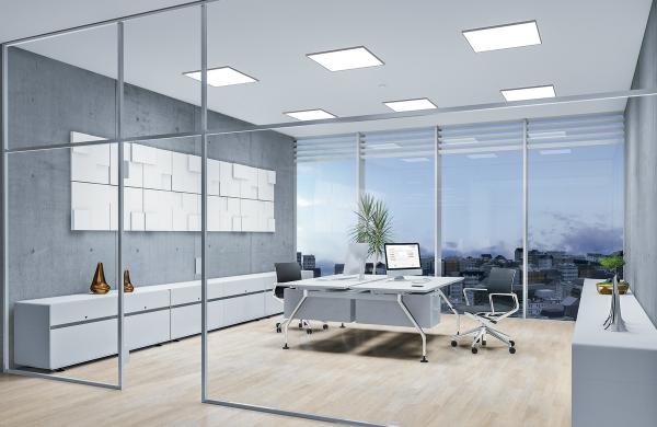 Ứng dụng của đèn led Panel tại văn phòng làm việc
