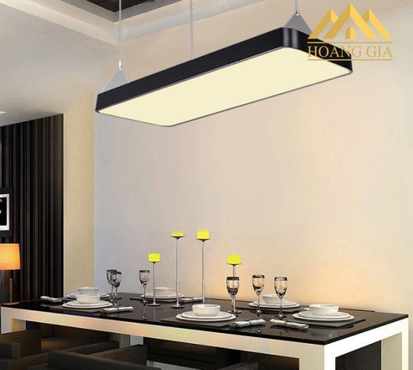 Ứng dụng của đèn led Panel lắp thả tại khu vực bàn ăn