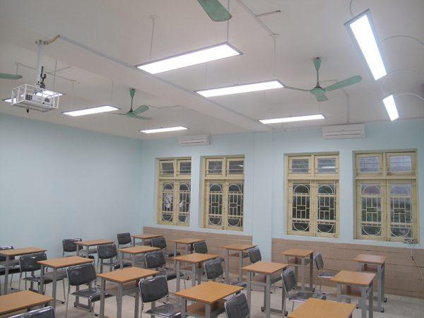 Ứng dụng của đèn led Panel cho lớp học