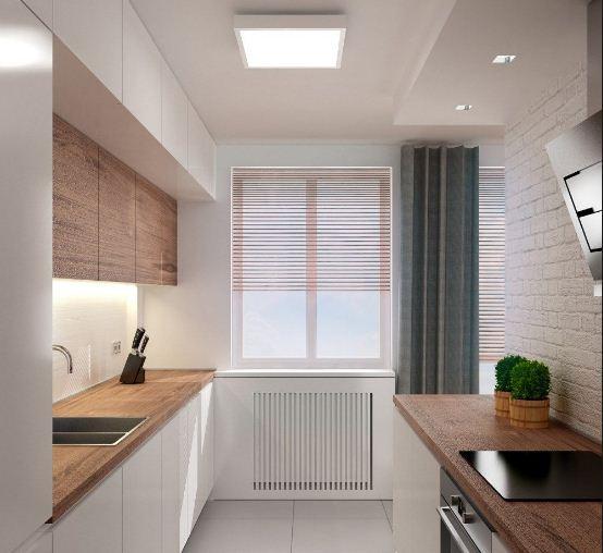 Phòng bếp lắp đặt đèn led Panel ốp trần (dùng cho trần bê tông hoặc trần chìm)