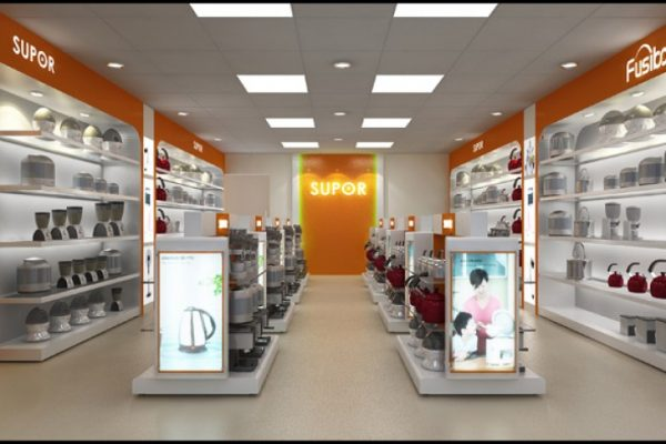 Ứng dụng của đèn led Panel trong cửa hàng đồ gia dụng