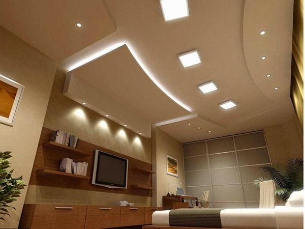 Ứng dụng của đèn led Panel tại không gian phòng khách