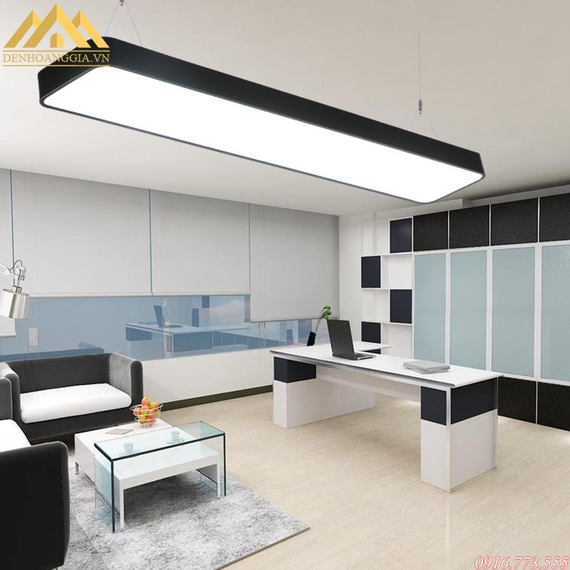 Đèn led thanh thả trần giúp không gian thêm tinh tế