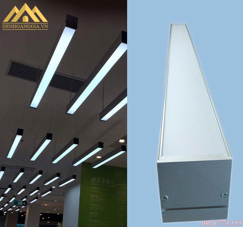 Ứng dụng đèn thả văn phòng ở nhiều không gian khác nhau