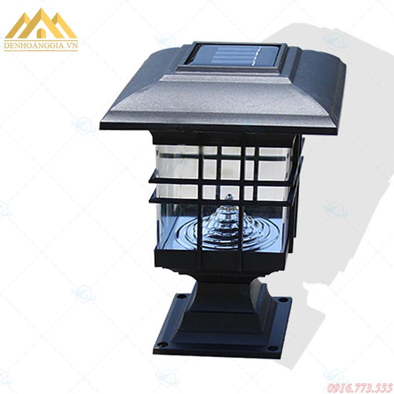 Đèn trụ cổng năng lượng mặt trời có tính thẩm mỹ cao