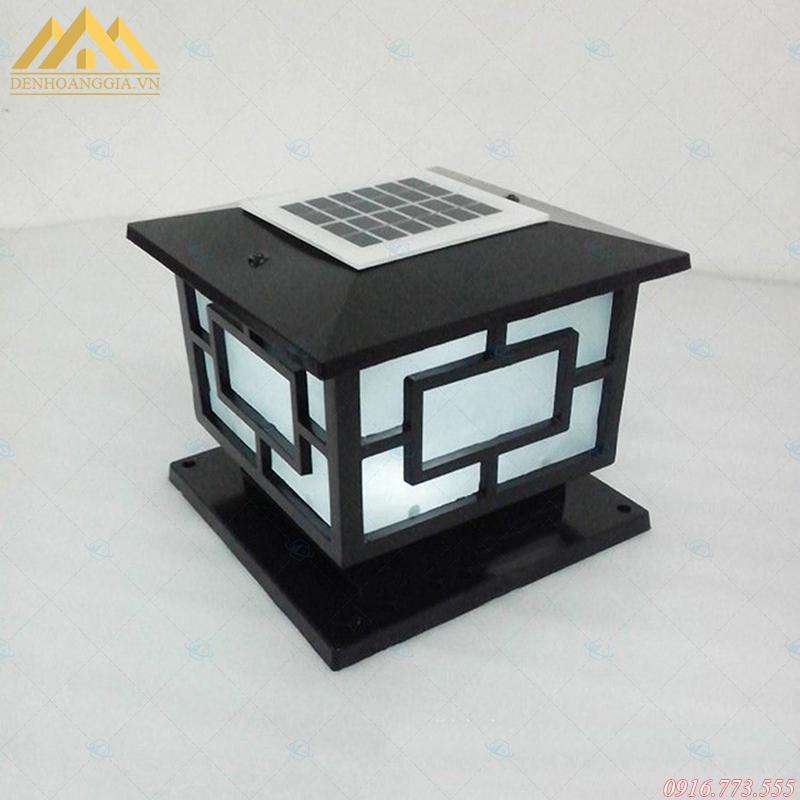 Thiết kế đèn trụ cổng năng lượng mặt trời chắc chắn, độ bền cao