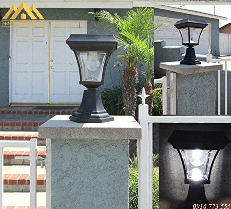 Ứng dụng đèn trụ cổng hiện đại trong thực tế