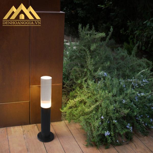 Đèn trụ sân vườn giá rẻ thiết kế khép kín đạt tiêu chuẩn IP68
