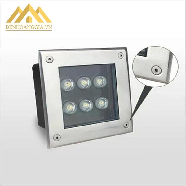 Đèn led âm sàn thiết kế chuyên dụng để trang trí và chiếu sáng ngoài trời
